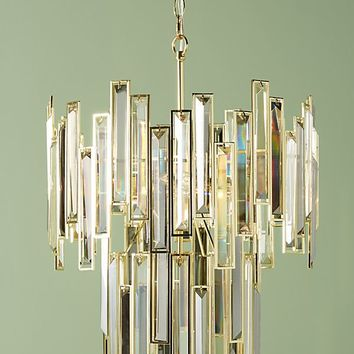 Tiered Crown Chandelier