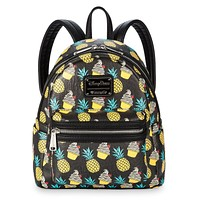 Disney Pineapple Swirl Mini Backpack by Loungefly New with Tags