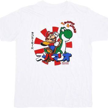 Nintendo Mario and Yoshi Japanese T-shirt