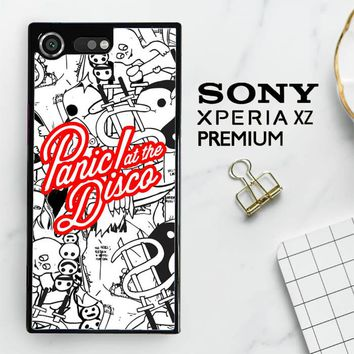 Panic At The Disco W4211 Sony Xperia XZ Premium Case