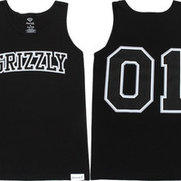Grizzly The Freshman Tank Xxl-Black