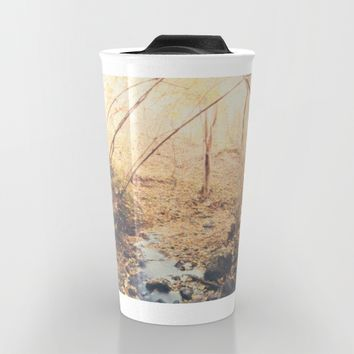 Blue cola mountain Travel Mug by HappyMelvin | Society6
