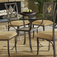 Diamond Tile Round Dining Set
