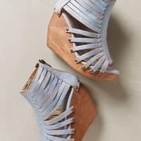Tundra Gladiator Wedges by Bed Stu Blue