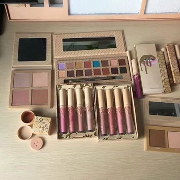 Brand Make up take me vocation makeup set big box send me more Nude Shinny Dip Ultra glow the wet kit June bug Gloss gifts