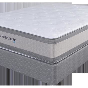 Spring Air Queen Perfect Rest Back Support Mattress Set