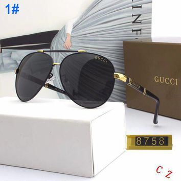 GUCCI 2018 Men's and Women's Fashion Trend Polarized Sunglasses