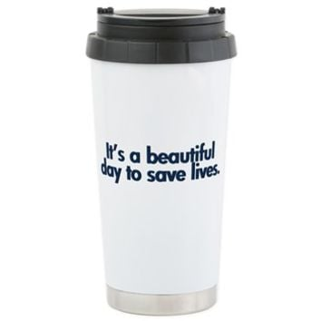 Surgeon Ceramic Travel Mug> Grey's Anatomy TV Store