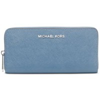 MICHAEL Michael Kors Travel Zip Around Continental Wallet | macys.com