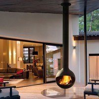OUTDOOR FIREPLACE BATHYSCAFOCUS | FOCUS