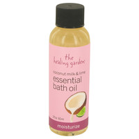 Coconut Milk & Lime Moisturize Bath Oil By The Healing Garden