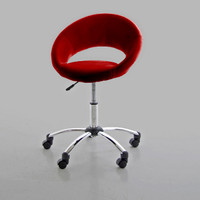 Scandinavia Furniture Metairie New Orleans Louisiana offers Contemporary & Modern Furniture for your Living Room - ACTONA - PLUMP RED OFFICE CHAIR - ScandinaviaFurniture.com