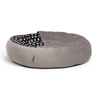 Disney Mickey Mouse Cozy Cuddler Pet Bed Gray Medium New with Tags
