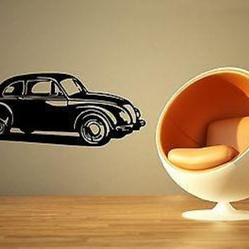 Wall Stickers Vinyl Decal Retro Vintage Car Antique Unique Gift ig1632