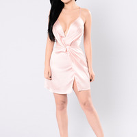 In Your Sweetest Dreams Dress - Mauve