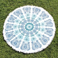 moana round beach towel