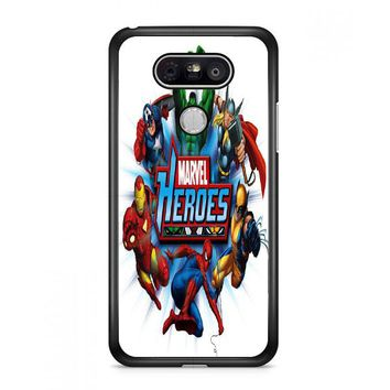 Marvel Heroes And Comic Book LG G6 Case | Casefruits