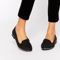 New Look Wide Fit Slip On Shoe at asos.com