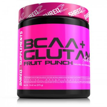 SHREDZ BCAA+GLUTAMINE Building and Recovery Complex – Fruit Punch (Women)