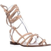 Splendid Carly Strappy Toe Ring Sandals, Sand, 9.5 US