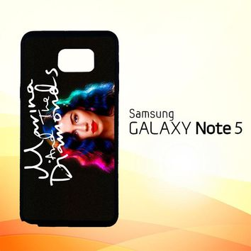 Marina and The Diamonds Z1529  Samsung Galaxy Note 5 Case