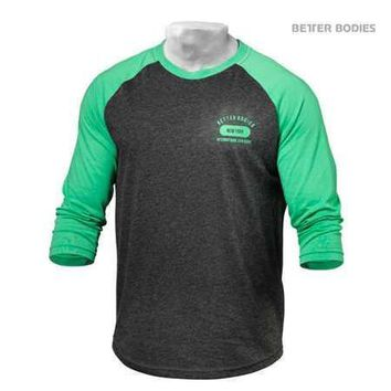 Better Bodies Men's Baseball Tee sale