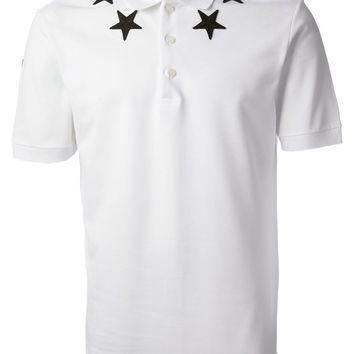Givenchy Star Patch Polo Shirt