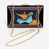 Danielle Nicole Disney Aladdin Magic Lamp Evening Clutch