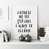 Lana Del Rey Quote Vinyl Wall Decal Sticker Home decor Typographic print Art Song Lyrics Believe in yourself Wall art Inspirational print