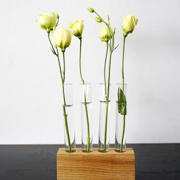 Test Tube Flower Vase Set