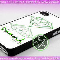 Green Diamond Supply Co - iPhone 4 / iPhone 4S / iPhone 5 / Samsung S2 / Samsung S3 / Samsung S4 Case Cover
