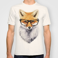 Mr. Fox T-shirt by Isaiah K. Stephens