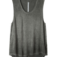 Raquel Allegra / Raw Edged Tank  |   La Garçonne