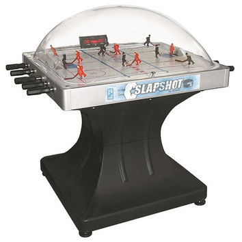 Shelti Slapshot Blue Line Thunderdome Bubble Hockey Table