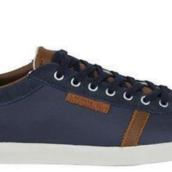 Lacoste Mens Shoes Brendel 6 srm Suede Leather Dark Blue