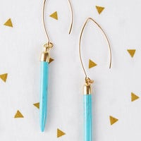 The Kendall Earring - Turquoise