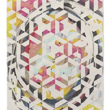 CIRCLE MOSAIC Area Rug By Catia Keck