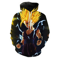 Super Saiyan Kid Gohan Dragon Ball Z Hoodie