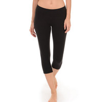 Women's Cool Down Latitude Body Fit Capri Legging : Women's Activewear LEGGINGS | Danskin