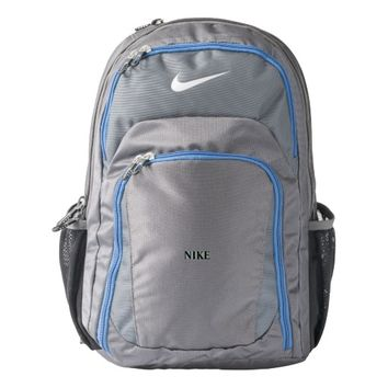 Custom Nike Performance Backpack, Dark Grey/Milita Nike Backpack