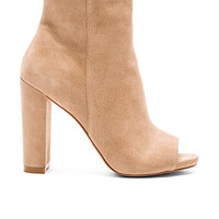 Mannzo Bootie in Taupe Suede