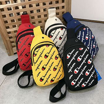 Champion Supreme Canvas Backpack College High School Bag Travel Bag