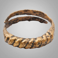 Historical  Ancient Viking, Mans Wedding Band, Jewelry C.866-1067A.D. Size 10 3/4  (20.4mm)(BRR756)