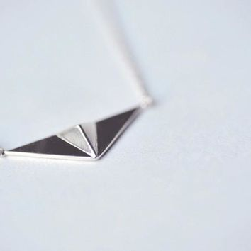 30PCS Fashion European aircraft paper airplane necklace harry styles cute flying American Origami Plane Necklace