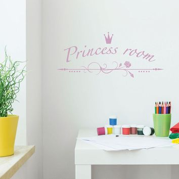 Princess Room Wall Decal