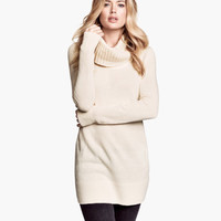 Polo-neck jumper - from H&M