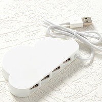 Kikkerland Cloud USB Hub