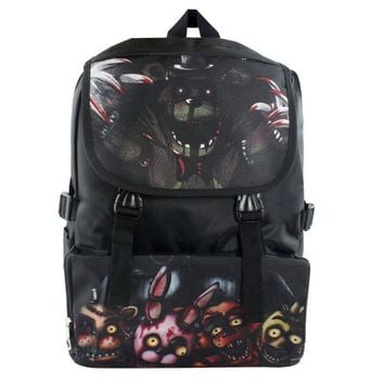 anime Five Nights at Freddy's backpack double layer children Freddy Chica Foxy Bonnie School bag backpack