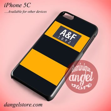 Yellow Abercrombie And Fitch Phone case for iPhone 5C and another iPhone devices