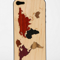 Urban Outfitters - Carved Wood iPhone 5 Back-Skin